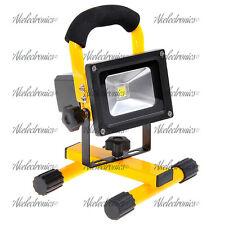 10w LED luz de inundación Recargable Portátil Imán Pie Lámpara Luz de inundación Ip65
