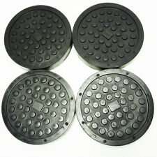 AUTOMOTIVE LIFT & MACHINERY CORP ROUND RUBBER ARM PADS SET OF 4 SLIP ON #69