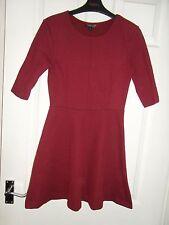 Topshop Polyester Short Sleeve Skater Dresses for Women