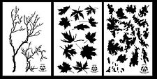 """3Pack! Spray Paint Camouflage Stencils 14"""" Gnarly Branch - Maple - TACS"""