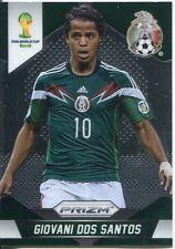 Panini Prizm Copa del Mundo 2014 tarjeta base # 147 Giovani dos Santos