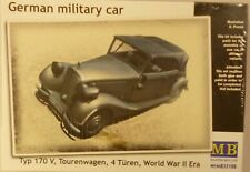 Master Box 1/35 WWII German Type 170V Tourenwagen 4 Turen Military Car 35100
