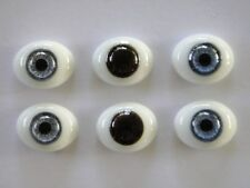 Augen Im Glas Briefbeschwerer 22 MM Für Puppen Antike Oder Moderne - Reborning