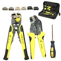 4IN1 Wire Crimpers Stripper Engineering Ratcheting Terminal Crimping Pliers Tool