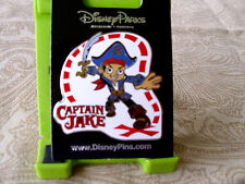Disney * PIRATE CAPTAIN JAKE * New Disney Channel Character Trading Pin