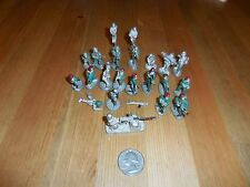 LOT OF VINTAGE SOLDIERS LEAD / PEWTER