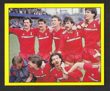 Panini - Football 88 - # 291 Liverpool Double Winners 1985/86