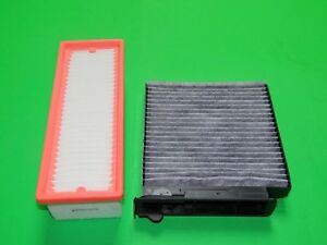 Aktivkohle Pollenfilter + Luftfilter Dacia Sandero I 1.5 dCi (55 & 65kW)