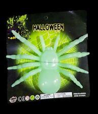 Ragno Fluorescente Verde Scherzo Horror Decorazione Feste Halloween Party dfh