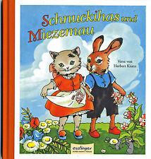 Schnuckihas und Miezemau Bilder von Lia Döring Reprint eines Originals von 1929