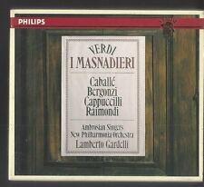 Verdi: I Masnadieri (2 CD Set, Gardelli )Caballe-Bergonzi-Cappuccilli-Raimondi