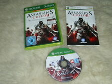 ASSASSIN'S CREED II: Game Of The Year Edition CASSICS (Microsoft Xbox 360, 2009)