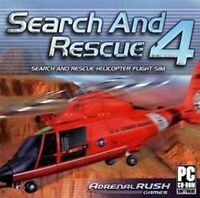 SEARCH and RESCUE 4  Helicopter Flight Simulation  PC Game  Brand New Sealed