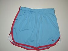 NIKE DRI-FIT BLUE PINK RUNNING ATHLETIC SHORTS GIRL's SIZE YOUTH LARGE 14 16