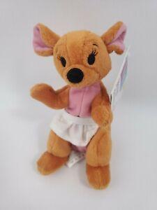 "Mattel Walt Disney Winnie the Pooh Kanga Kangaroo 6"" Stuffed Animal Plush"