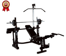 Home Gym Phoenix Power Pro Olympic Bench Build Muscle Workout Weight Fitness New