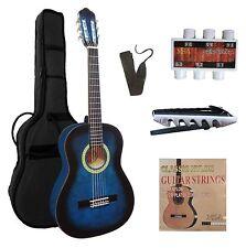 1/2 Kindergitarre, Konzert, Klassik, Gitarre-mit Zubehör-Tasche-Band-Set-J2!n