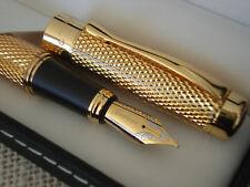 Splendide stylo plume REGENT,recharge,ecrin,coffret luxueux,cadeau