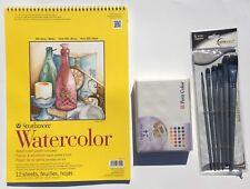 36 Petit Color Sakura Sketch Solid Water Color Assorted Brush Box Set