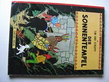 tintin der sonnentempel(allemand) 1974