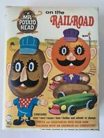 "Vintage 1968 Mr. Potato Head ""Railroad"" In Box With Extras!"