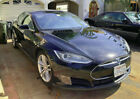 2013 Tesla Model S 85 kWh 2013 MODEL S 85 RWD - DEAD HV BATTERY GOOD COND OTHERWISE, 65K MILES BLK/BLK