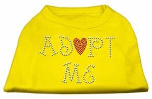 Adopt Me Rhinestone Dog Cat Pet Puppy Adopt Shirt