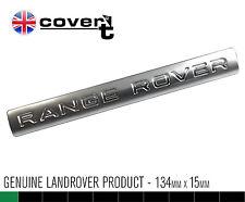 RANGE ROVER interior dash board badge sterling silver L322 2006>12 DAM500590MVM