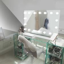 Diamond x tavolo Hollywood per trucco Specchio con bianco caldo LED regolabile k413sWW