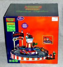 New Lemax Halloween Spooky Town Carnival ZOMBIE PLANE RIDE #64046,Lights & Sound
