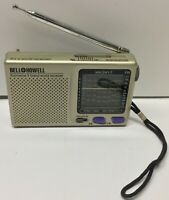 Vintage Portable Bell & Howell FM/MW/SW 9 Band World Receiver Radio-Works