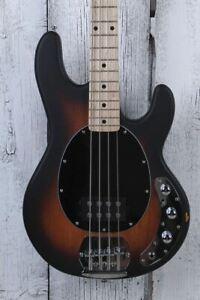 Sterling by Music Man StingRay H 4 String Electric Bass Guitar Vintage Sunburst