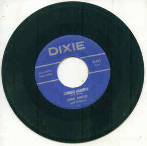 45 - Bobby Fenster - Chapel In The Valley / Midnight Mountain
