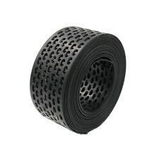 5 Meter PVC 50 mm breit schwarz Vogelschutzgitter Traufgitter Lüftungsgitter