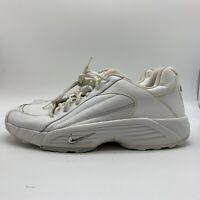 NIKE  021012 Men's  WHITE SHOES, Size 11.5