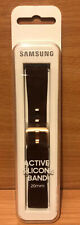 Official Samsung Galaxy Watch 20mm Silicone Strap - Brown