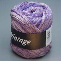 Lana Grossa Vintage 005 broken violet 50g Wolle (11.00 EUR pro 100 g)