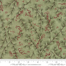 MODA Fabric ~ ONCE UPON A MEMORY ~ Holly Taylor (6732 18) Eucalyptus- by 1/2 yd