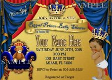 Prince, Royal, Baby Shower Invitation