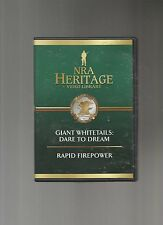 NRA Heritage Video - Giant Whitetails: Dare To Dream/ Rapid Firepower, DVD