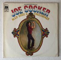 JOE COCKER ~ MAD DOGS & ENGLISHMEN ~ UK 19-TRACK VINYL 2LP SET + FOLDOUT G/FOLD