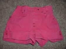 Baby GAP Girls Pink Brown Shorts Size 6-12 months mos Summer Spring Bottoms