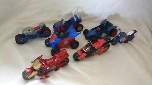 🤖 MARVEL: Vehicle bundle bike, car, motorbike spiderman captain america ironman