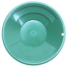 Goldwaschpfanne SE Gold Pan 8'' - 20 cm grün Kunststoff Goldwaschen Waschpfanne