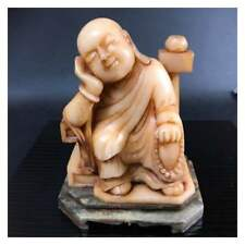 Rare Item Chinese Buddhist art China ancient marble Statue From JAPAN F/S