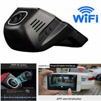 1080P Car DVR 2MP Camera Video Recorder WiFi GPS ADAS G-sensor Dash Cam USB FHD.