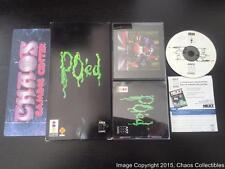 PO'ed (3DO, 1995) Complete CIB w Longbox RARE  POed