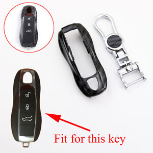 Carbon Fiber Key Bag Fob Case Fob For Porsche 911 918 981 Panamera Cayman Macan