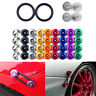 1 Set JDM Universal Quick Release Fasteners Kit Fit For Bumper & Trunk Hatch