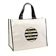 SIMPLY CHIC NATO per fare acquisti Borsa Shopping Shopping Grande Cibo Carrier Riutilizzabile Regalo